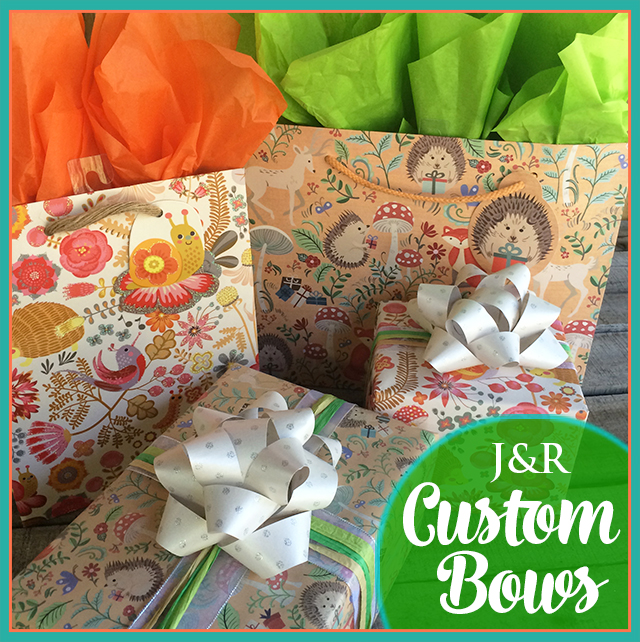 Jillson & Roberts Custom Paper Bow Finished