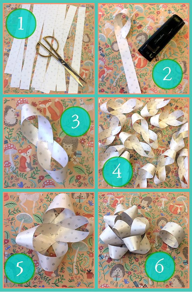 Jillson & Roberts Custom Paper Bow How-to