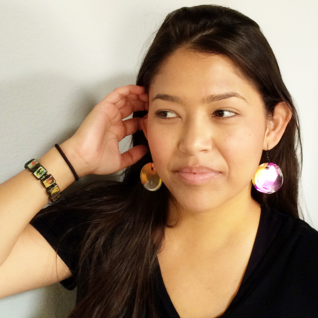 DIY Paper Earrings Finished 2